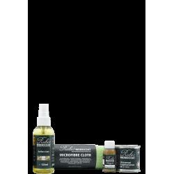 Disque mousse Bleu Diam 150 - Disque auto-agrippant