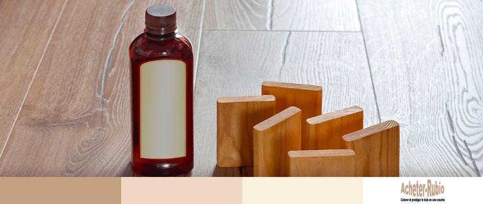 Echantillon huile bois