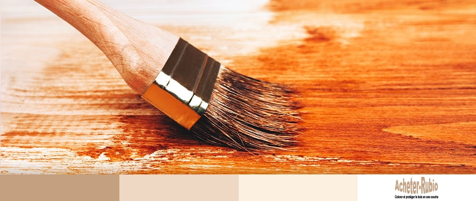 Appliquer huile à bois