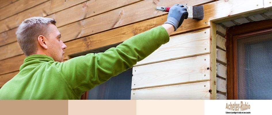 Préparer le bois extérieur
