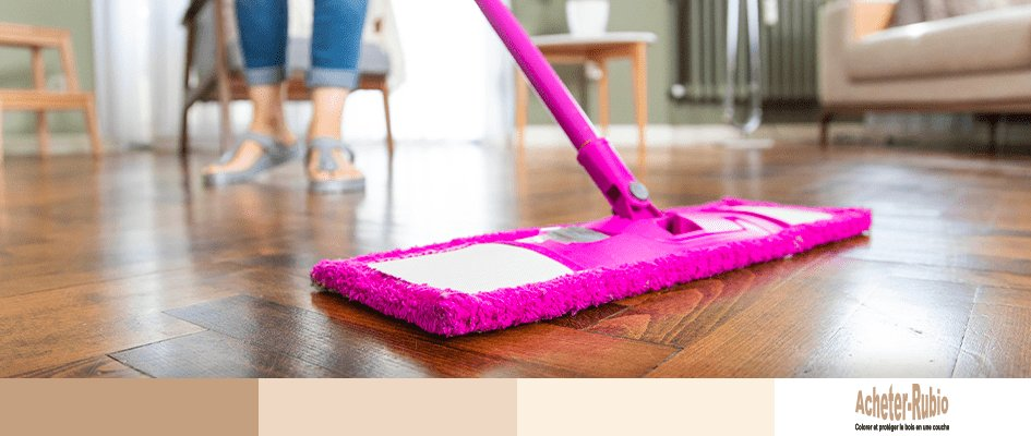 Nettoyer une finition en bois intérieur