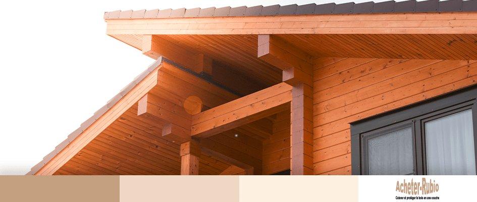 Une protection décorative pour imperméabiliser le bois en extérieur