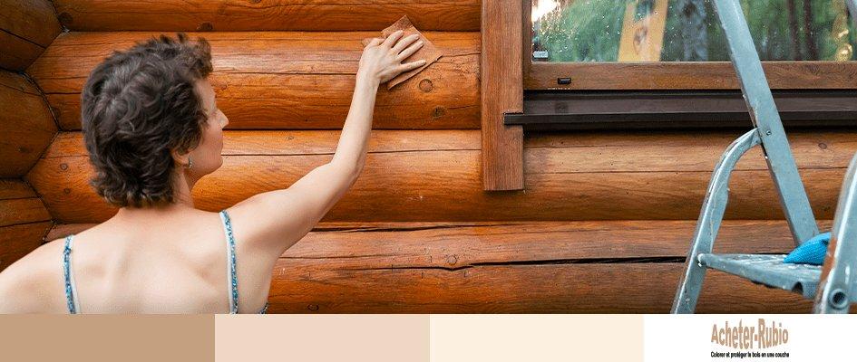 Comment appliquer WoodCream pour imperméabiliser le bois ?