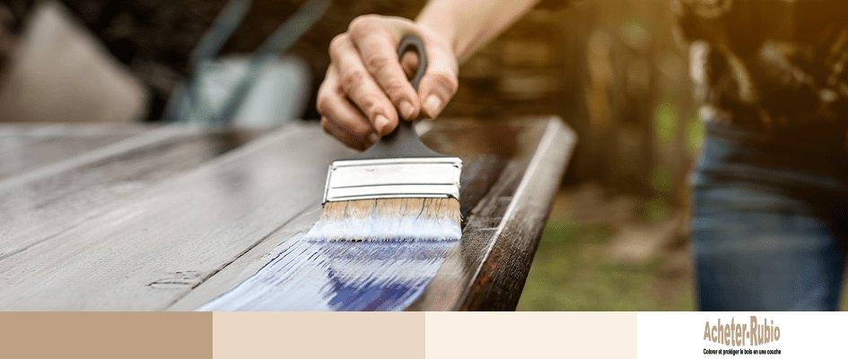 L'intérêt d'une huile pour bois monocouche